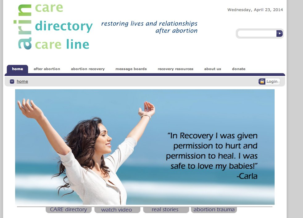 abortion recovery directory